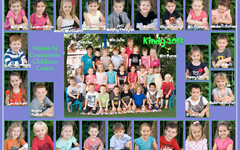 Sample of group photo from childcare centre