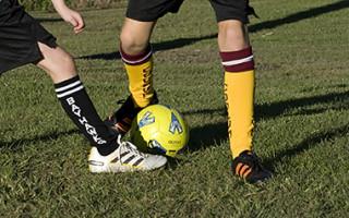 Football Socks in Action