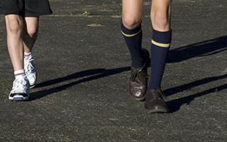 School Socks in Action