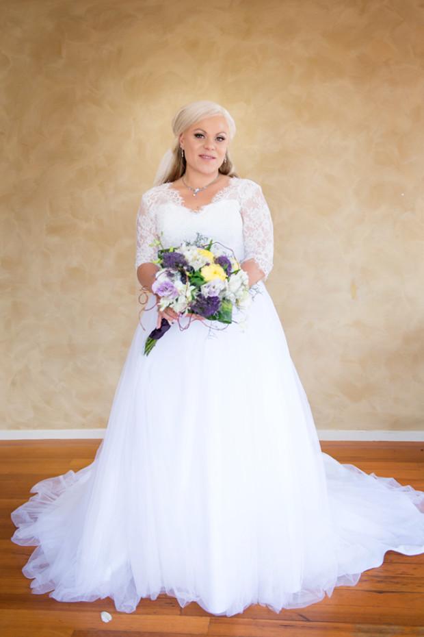 Full length portrait of bride Kolo
