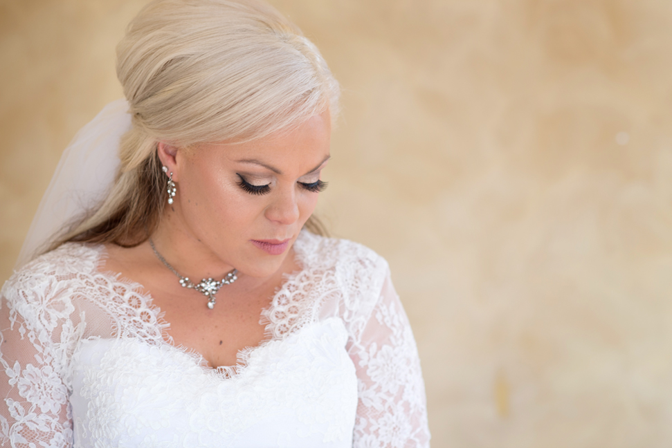 A beautiful bridal portrait